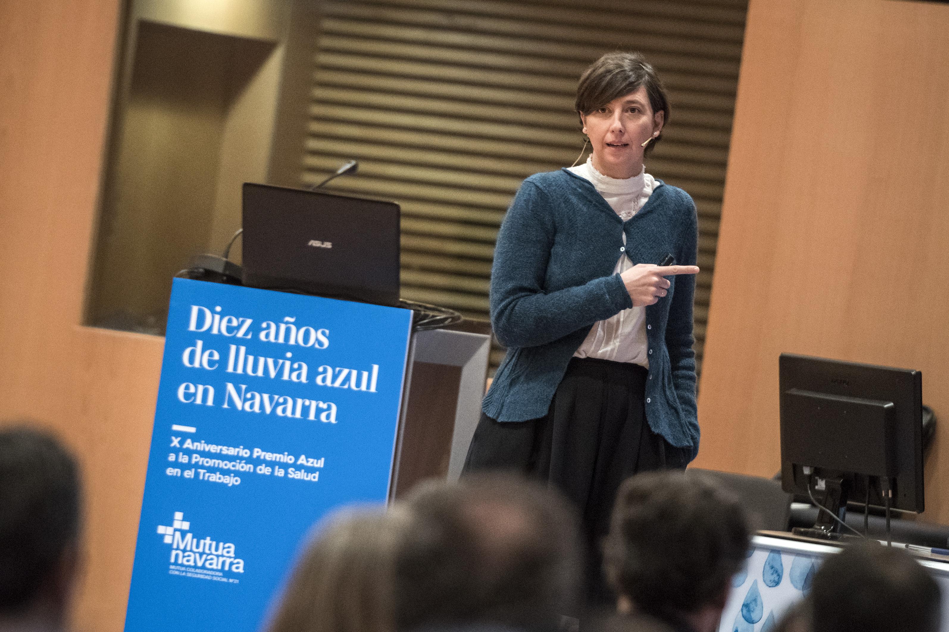 Mutua Navarra. Premio Azul, X Aniversario. Sala Luneta, Baluarte. 30.01.2019