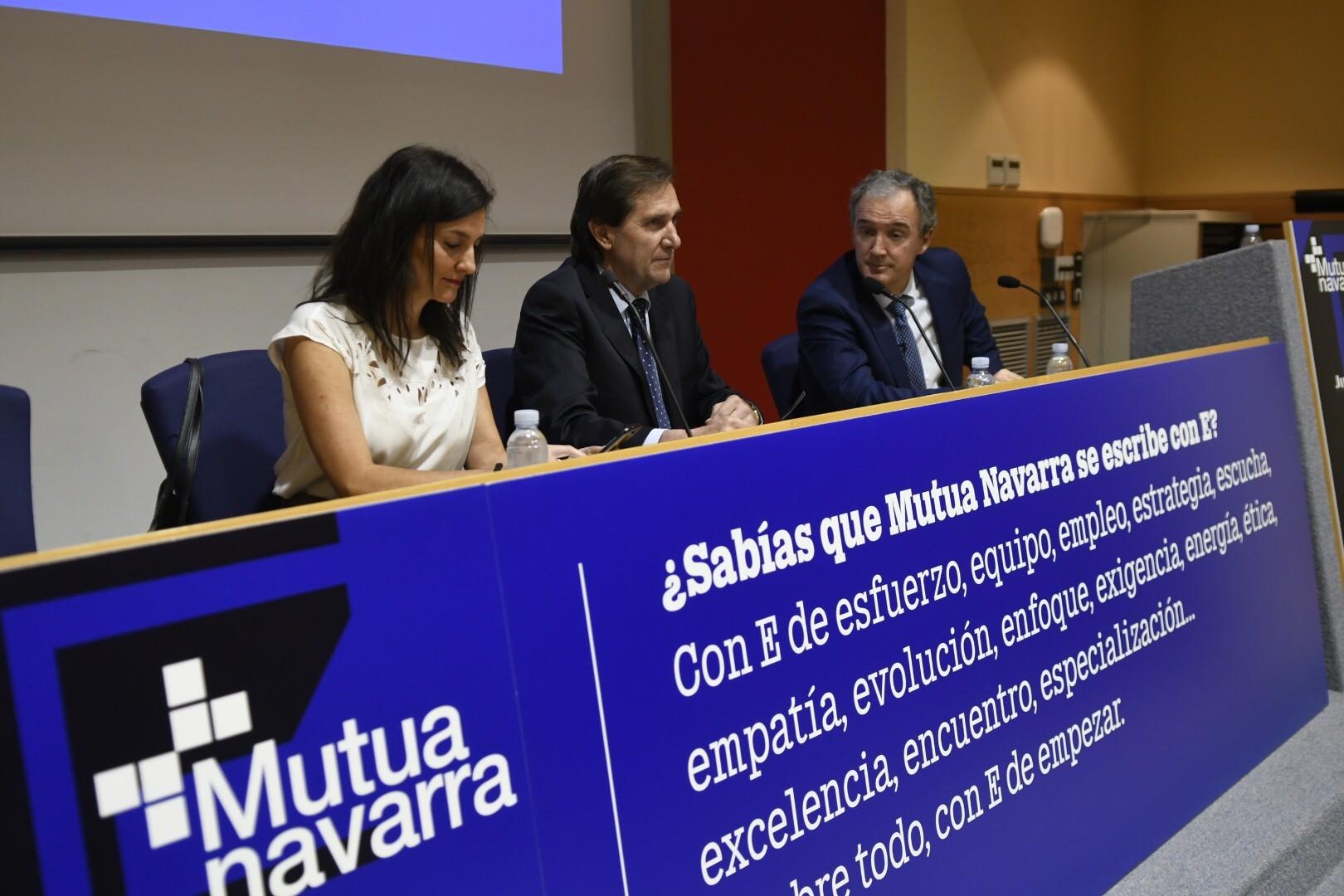 Mutua Navarra celebra su junta en la Cámara de Comercio