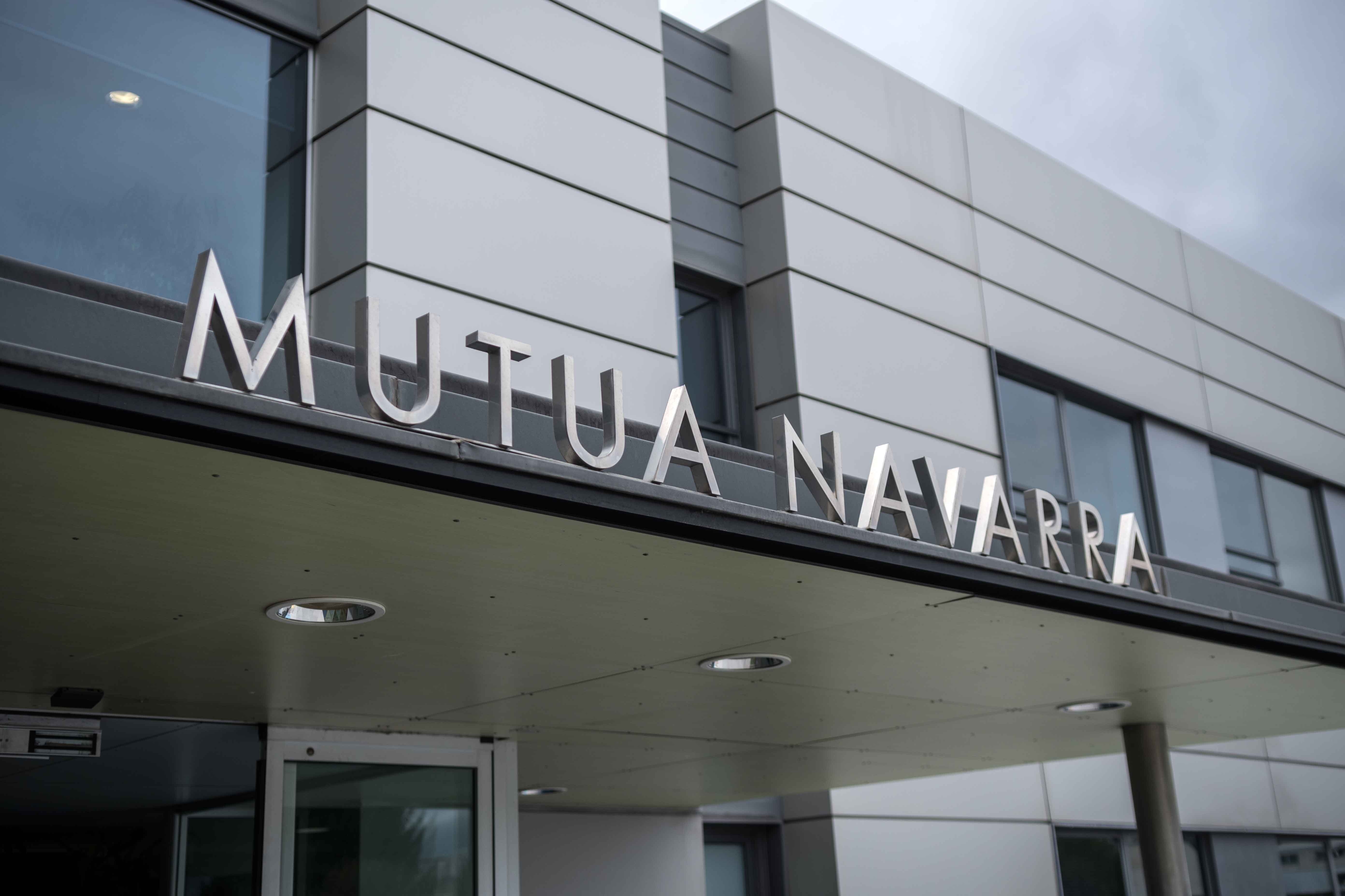 Fachada de Mutua Navarra