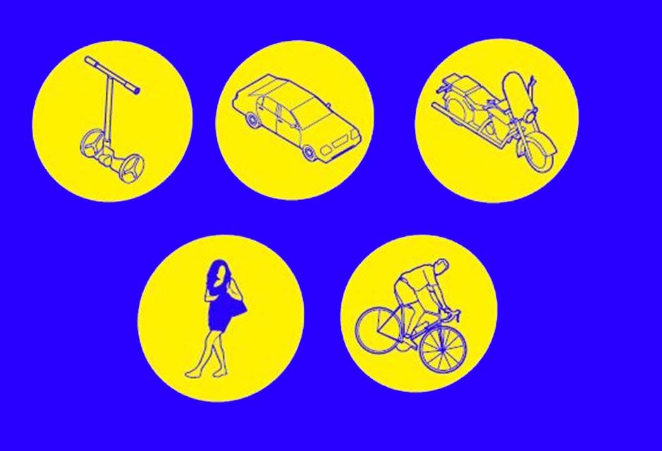"""Lanzamos nuestra campaña: """"Muévete azul, compartiendo espacios"""""""