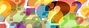 iconos de signos de interrogación para artículo de preguntas y respuestas sobre la COVID19