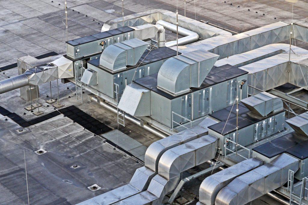 Foto de el techo de una empresa
