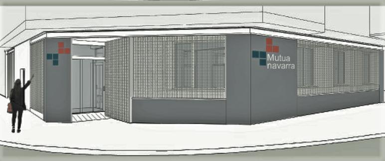 Diseño de como va a quedar la nueva sede de Estella después de las obras